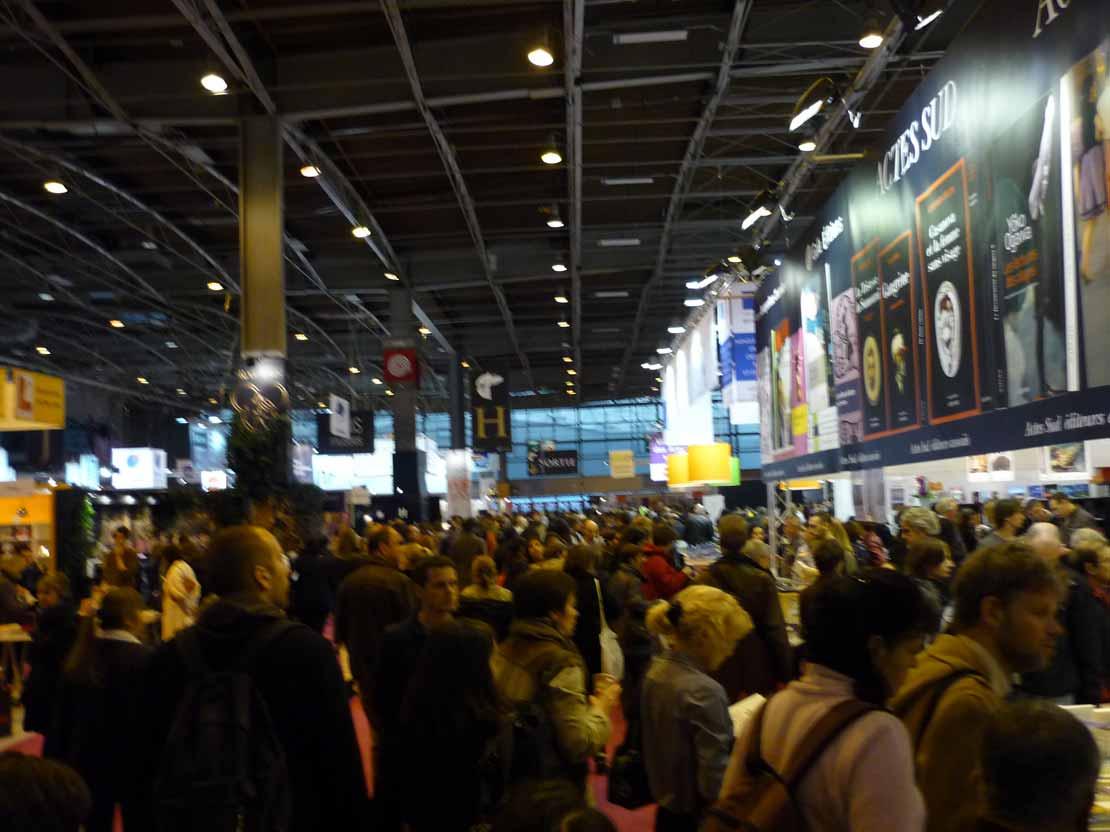 Le salon du livre de paris 2012 - Le salon du livre paris ...