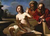 Parme [Italie] Guercino-suzanna